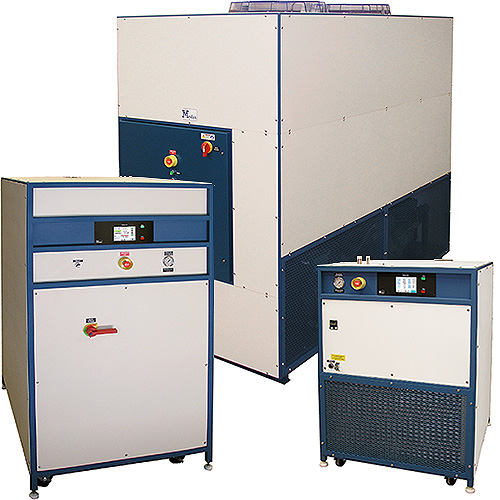 Mydax Industrial Chiller Applications, Process Fluid Cooling Liquid Temperature Control