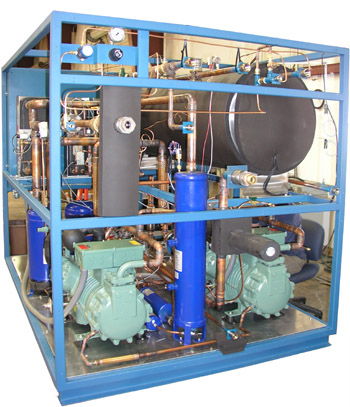 Mydax Low Temperature Custom Liquid Chiller with parallel compressors