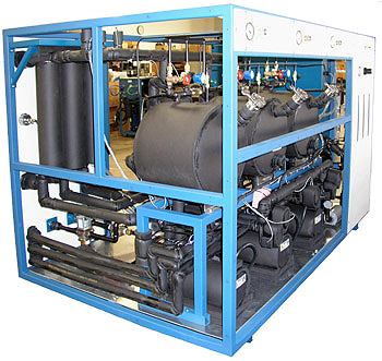 Mydax Custom Liquid Chiller System with 3 independent cooling loops