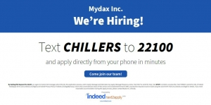 Mydax Hiring! Several positions available.