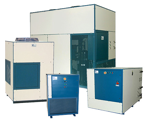Mydax Outdoor Rated Air & Water Cooled Chillers Coolers