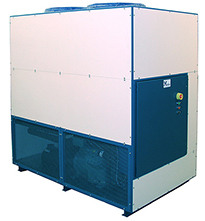 Mydax Outdoor Rated Industrial Liquid Chiller Systems Process Fluid Cooling