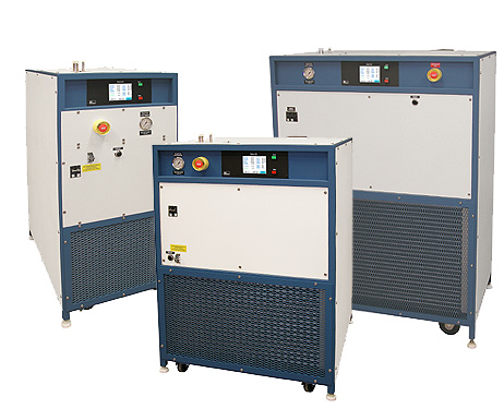 Mydax Air Cooled Refrigerated Process Cooling Chiller Systems for heat transfer fluid temperature control