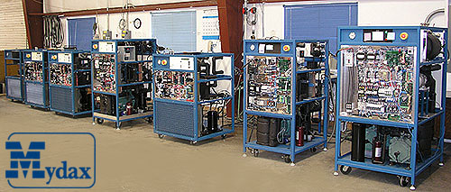 Mydax Air Cooled Chillers & Water Cooled Chillers in Quality Assurance QA Test